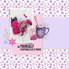 Layout by shannon T using Cozy Wintertime Super Mini by Aftermidnight Design