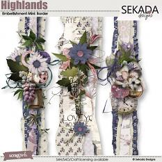 Highlands Embellishment Mini Border