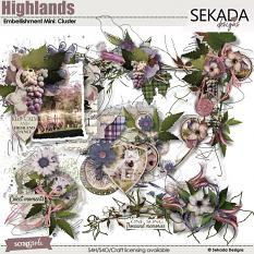 Highlands Embellishment Mini Cluster