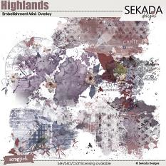 Highlands Embellishment Mini Overlay
