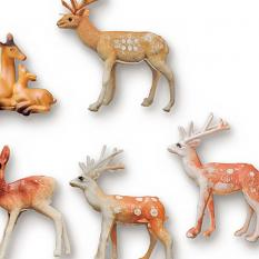 ScrapSimple Embellishment Templates: Toy Animals Vol1 - details - by On A Whimsical Adventure