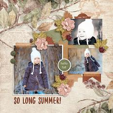 layout by Judy using Farewell Summer by Dagi's Temp-tations