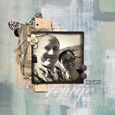 Digital layout using ScrapSimple Embellishment Templates: Whimsical Frames Vol3 by On A Whimsical Adventure