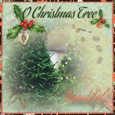 layout by Marie using Christmas Pleasuser Collection by Aftermidnight Design