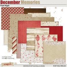December Memories Paper Biggie