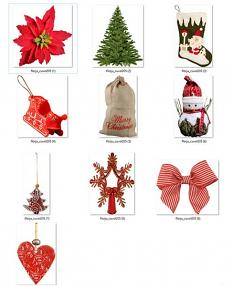 detail ScrapSimple Embellishment Templates: Red Christmas Pack 05 by florju designs
