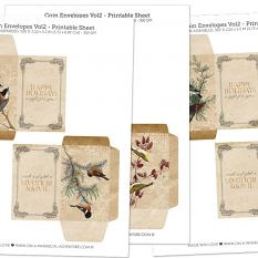 Coin Envelopes Vol2 by On A Whimsical Adventure