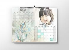 layout using Make your own calendar 2018 : Grids by florju designs