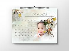 layout using Value Pack: Make your own calendar 2018 by Florju designs