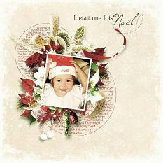layout using Value Pack: Merry Christmas by flroju designs