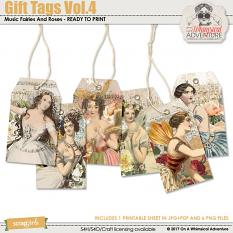 Gift Tags Vol4 by On A Whimsical Adventure