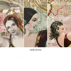 Bookmarks Vol1 Gypsy Dancers by On A Whimsical Adventure