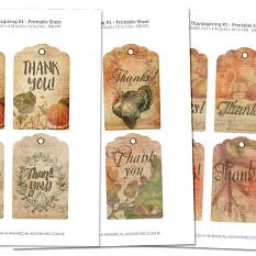 Gift Tags Vol5 by On A Whimsical Adventure