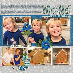 layout by Bea using 2017 Happenings Week 29 - 32 by Dagi's Temp-tations
