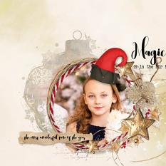 layout using ScrapSimple Embellishment template :Xmas Time Clipping Mask by florju designs