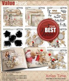 Xmas Time value pack by florju designs