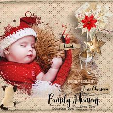 layout using Xmas Time Word art and Word Tag by florju designs