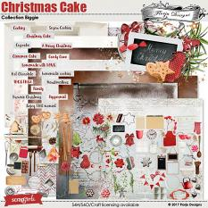 Value Pack: Christmas Cake by florju designs