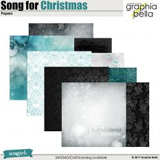 Song for Christmas Papers by Graphia Bella