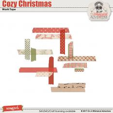 Cozy Christmas Washi Tape by On A Whimsical Adventure