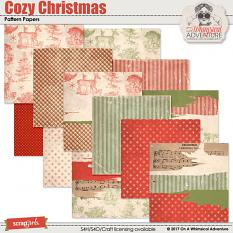 Cozy Christmas Patterns by On A Whimsical Adventure