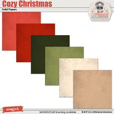 Cozy Christmas Solids by On A Whimsical Adventure