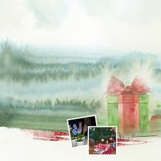 Layout by Marie Orsini using Home for Christmas Collection by Aftermidnight Design