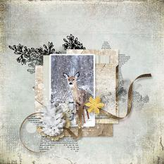 layout using  Merry And Bright Paper Biggie by florju designs