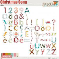 Christmas Song Alpha by Caroline B.