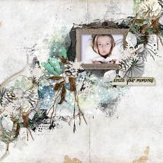 layout using Value Pack: Freezing Memories by florju designs