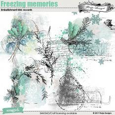 Freezing Memories Embellishment Mini: Accent by florju designs
