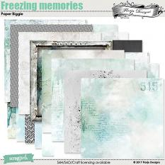 Freezing Memories Paper Biggie by florju designs