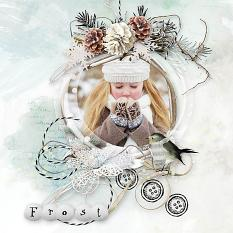 layout using Freezing Memories Collection Biggie by florju designs