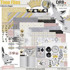 Time Flies Collection Biggie by DRB Designs | ScrapGirls.com