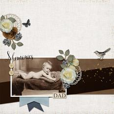 layout by Geraldine using Onederful 3 by Dagi's Temp-tations