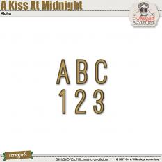 A Kiss At Midnight Alpha by On A Whimsical Adventure