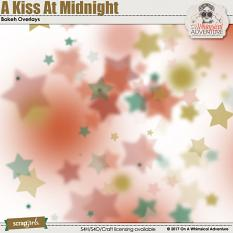 A Kiss At Midnight Bokeh Overlays by On A Whimsical Adventure