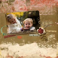 Creative Team layout using Value Pack: A Kiss At Midnight by On A Whimsical Adventure