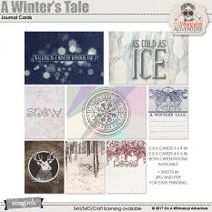 A Winter's Tale Journal Cards by On A Whimsical Adventure