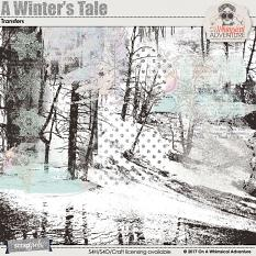 A Winter's Tale Transfers by On A Whimsical Adventure