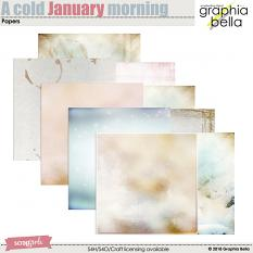 A cold January morning by Graphia Bella