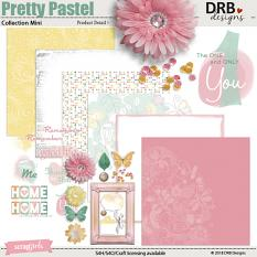 Pretty Pastel Collection Mini by DRB Design | ScrapGirls.com