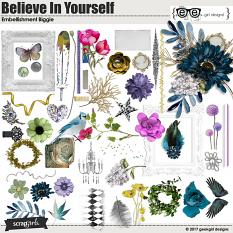 Believe In Yourself Embellishments