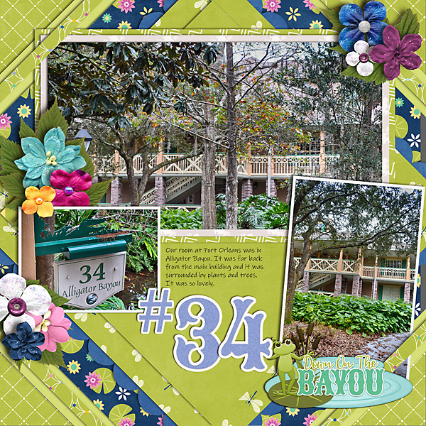 CT Layout using Belle of the Bayou by Connie Prince