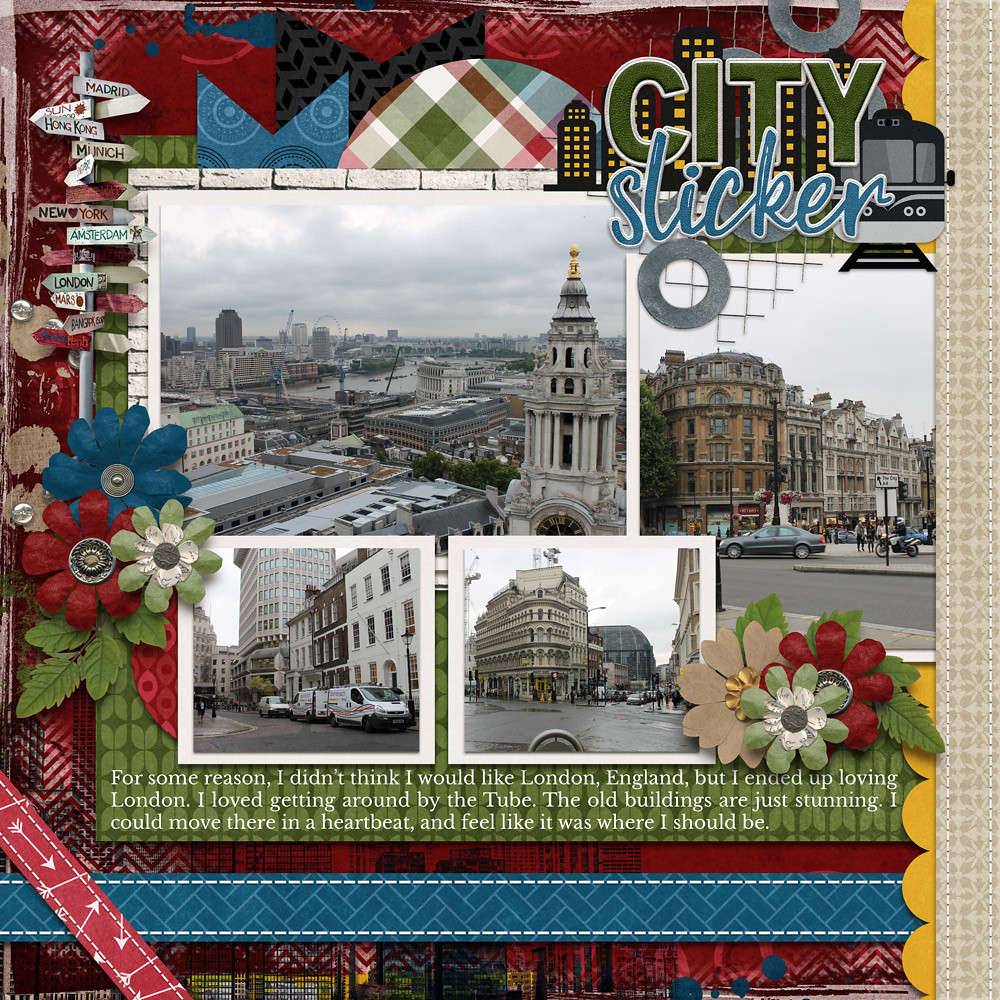 CT Layout using City Life by Connie Prince