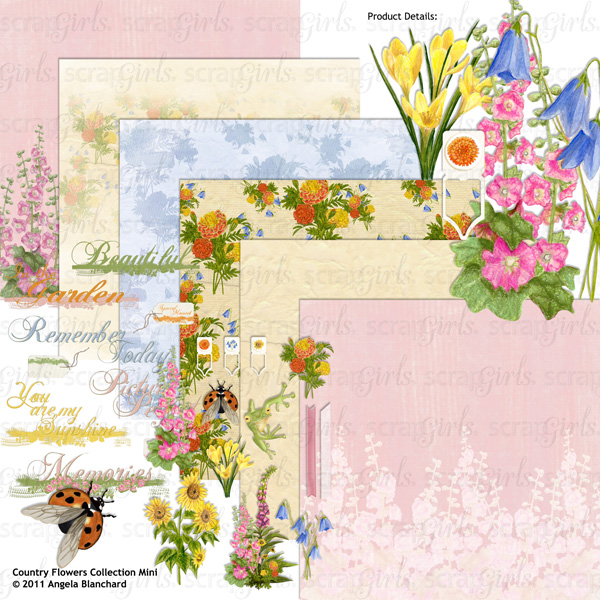 You May Also Like Country Flowers Collection Mini, Sold Seperately: