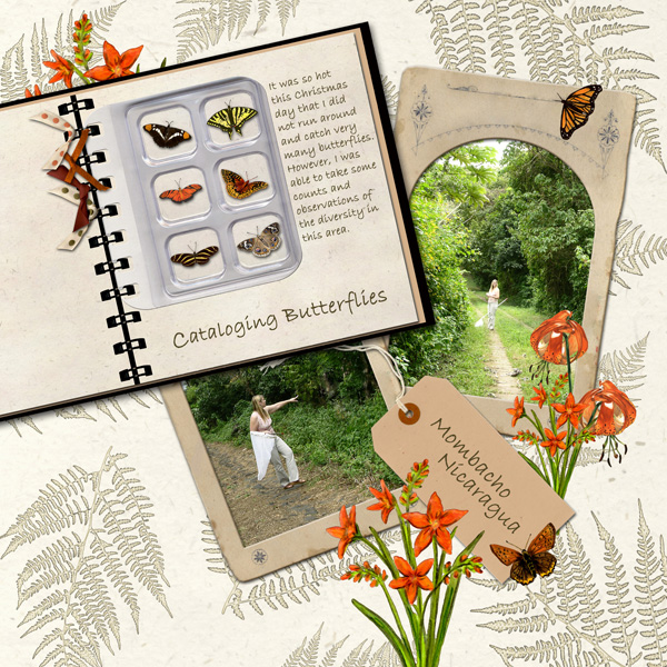Digital Scrapbooking Layout by Angela Blanchard- See Below Details for Supplies