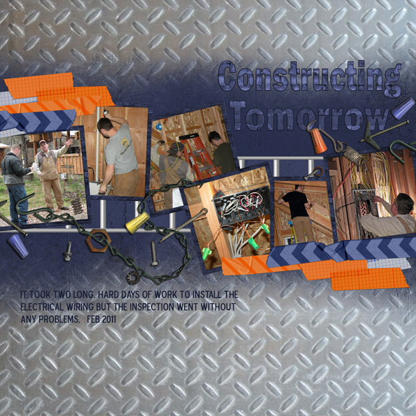 Layout By Angela Blanchard- See below for details