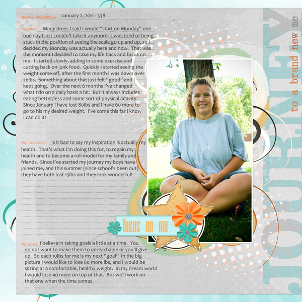 Journey With layout by Angie Briggs supplies linked below