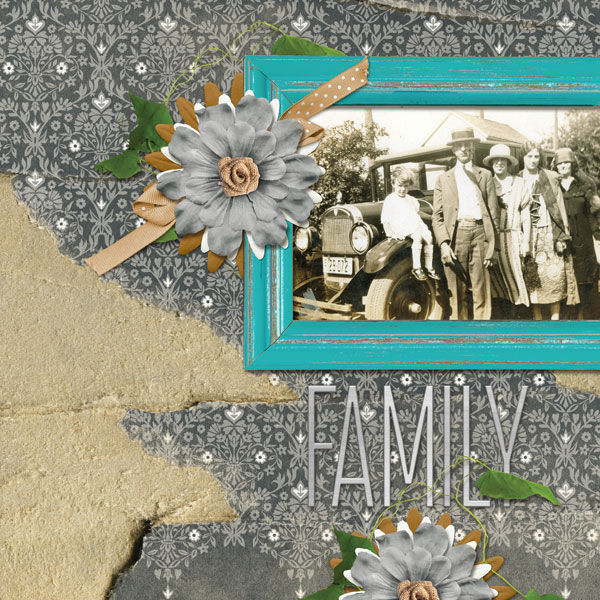 layout using Capturing Memories Paper Super Mini 2